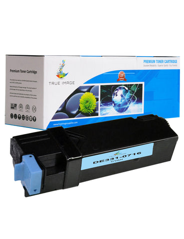 Compatible Dell 331-0716 High Yield Toner Cartridge (Cyan)