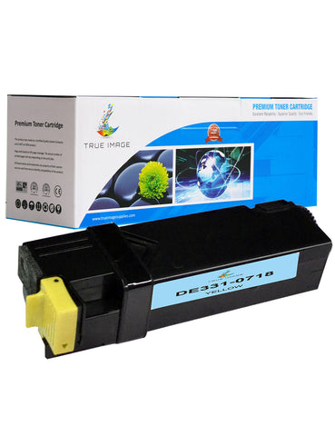 Compatible Dell 331-0718 High Yield Toner Cartridge (Yellow)