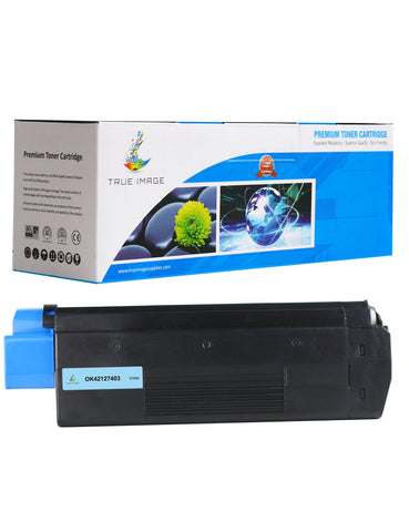 Compatible OKI 42127403 Toner Cartridge (Cyan)