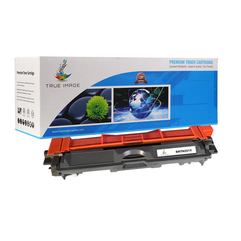 Compatible Brother TN-221Y Toner Cartridge (Yellow)
