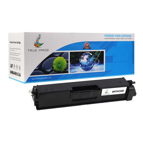 Compatible Brother TN-336M Toner Cartridge (Magenta)
