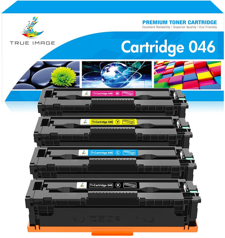 Canon 046 Compatible Toner Cartridge  (Black, Cyan, Magenta, Yellow, 4 Pack)