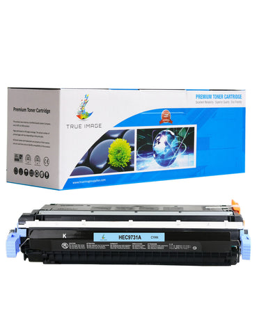 Compatible HP C9731A 645A Toner Cartridge (Cyan)