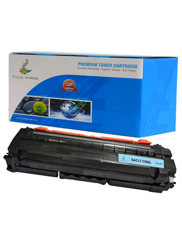 TRUE IMAGE SACLTY506L Yellow Toner Replaces Samsung CLT-Y506L