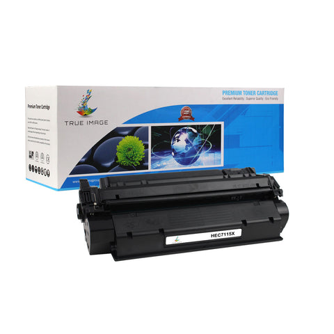 Compatible HP C7115X 15X High Yield Toner Cartridge (Black)