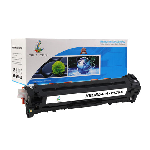 Compatible HP CB542A 125A Toner Cartridge (Yellow)