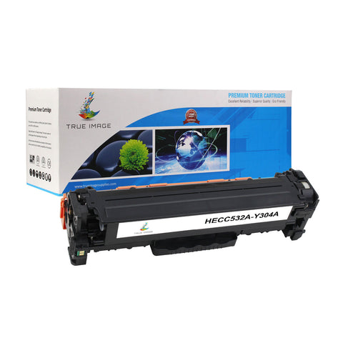 Compatible HP CB532A 304A Toner Cartridge (Yellow)