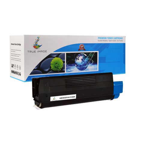Compatible HP CE321A 128A Toner Cartridge (Cyan)
