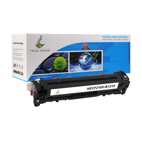 Compatible HP CF210X 131X High Yield Toner Cartridge (Black)