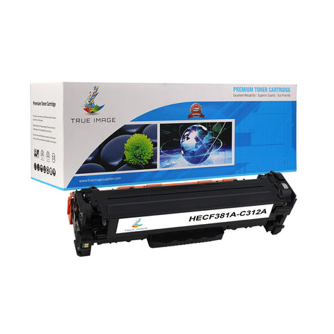 Compatible HP CF381A 312A Toner Cartridge (Cyan)