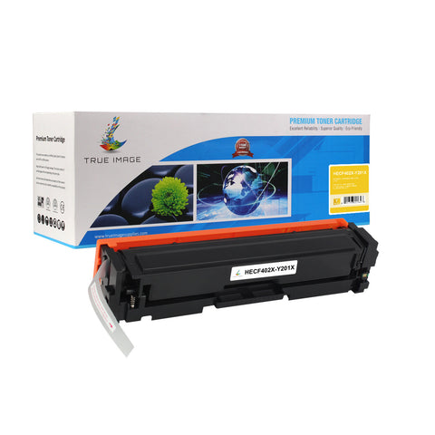 Compatible HP CF402X High Yield Toner Cartridge (Yellow)