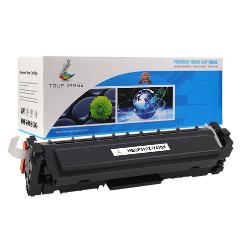 Compatible HP CF412X High Yield Toner Cartridge (Yellow)