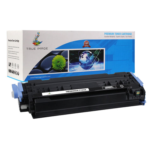Compatible HP Q6002A 124A Toner Cartridge (Yellow)