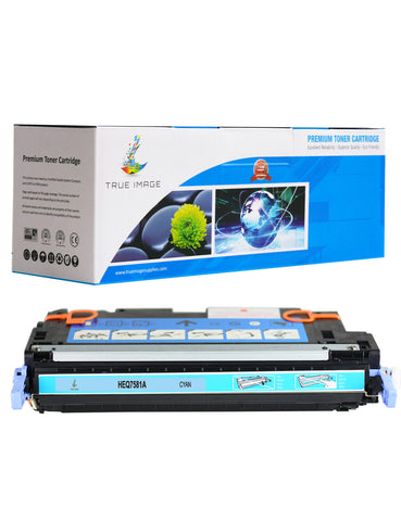 Compatible HP Q7581A 503A Toner Cartridge (Cyan)