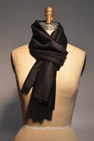 Midnight Navy Cashmere Scarf