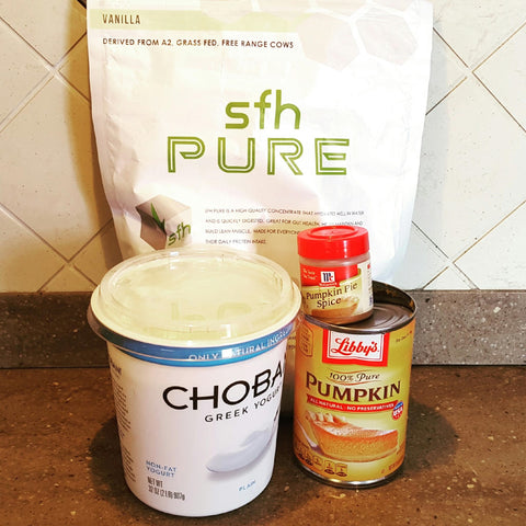 sfh pure whey protein recipes business travel life