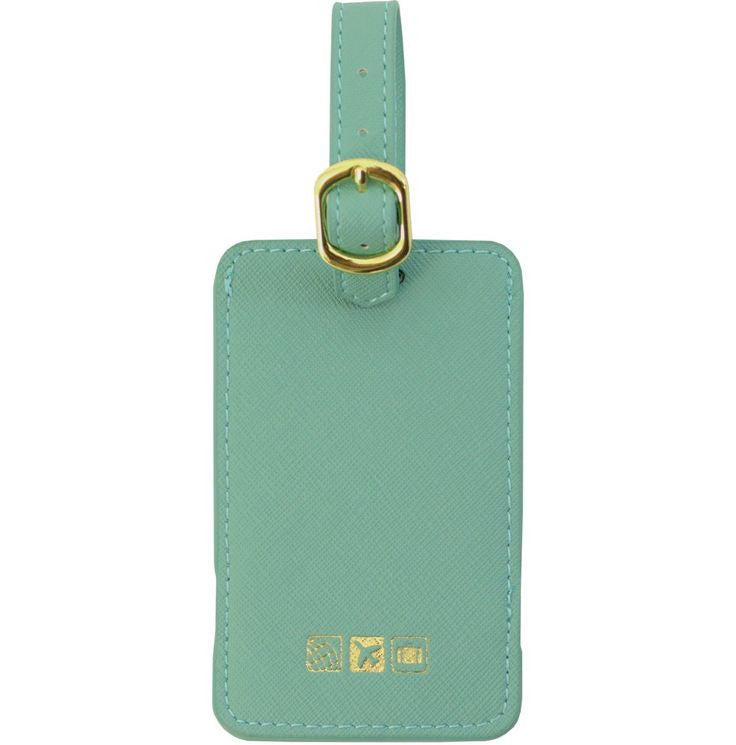 Correspondence Luggage Tag Spearmint