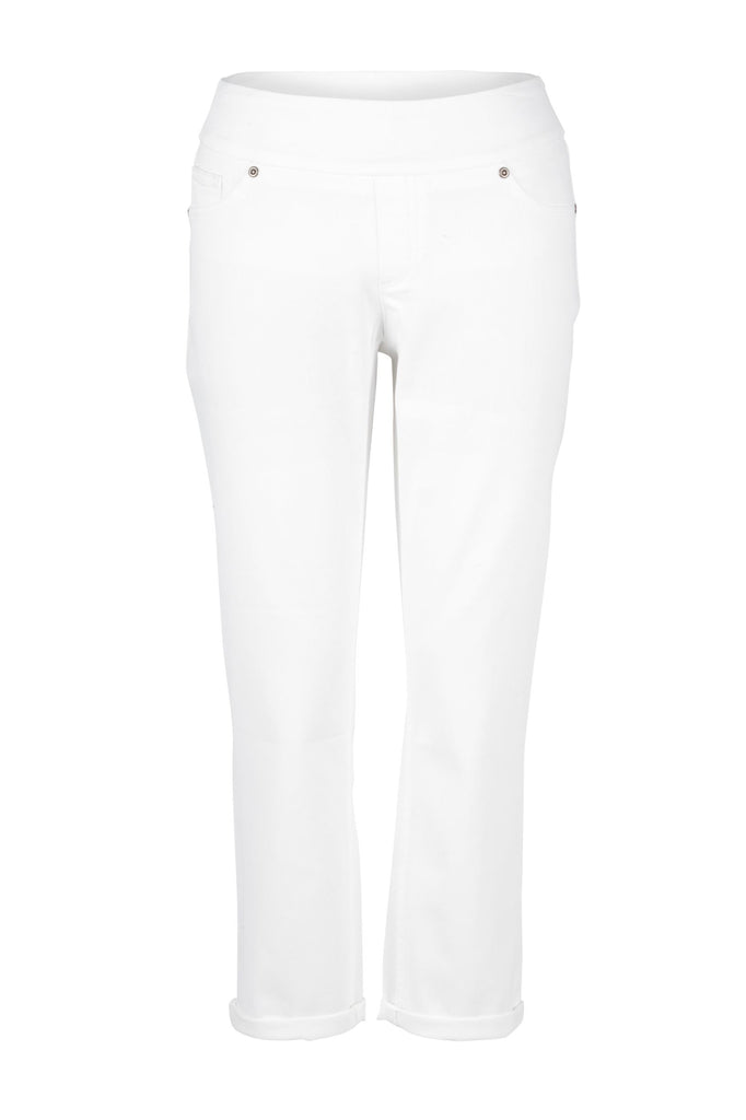 UP white crop jeans