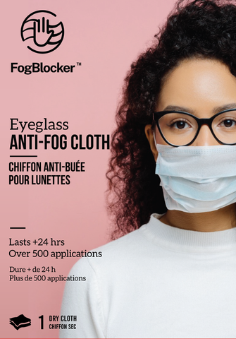 Fog blocker wipe