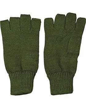 Fingerless Gloves - Olive Green - Single - 1st Knight Military Charity Home of the Brave