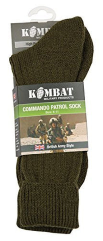 Commando Patrol Socks - 1st Knight Military Charity Home of the Brave