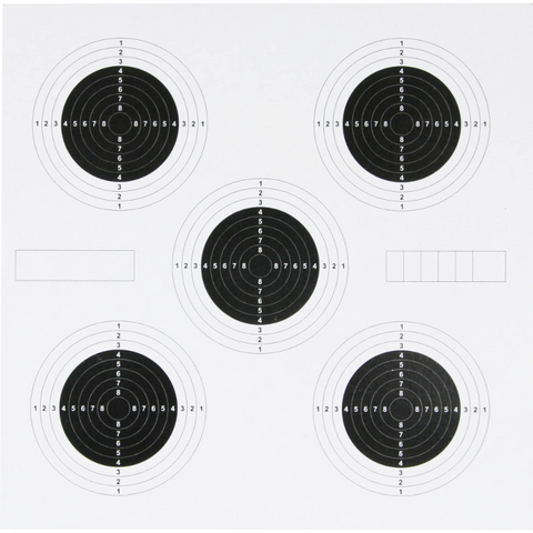 25 Yard Targets - 1st Knight Military Charity Home of the Brave