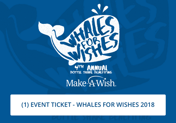 Whales for Wishes 2018 Ticket