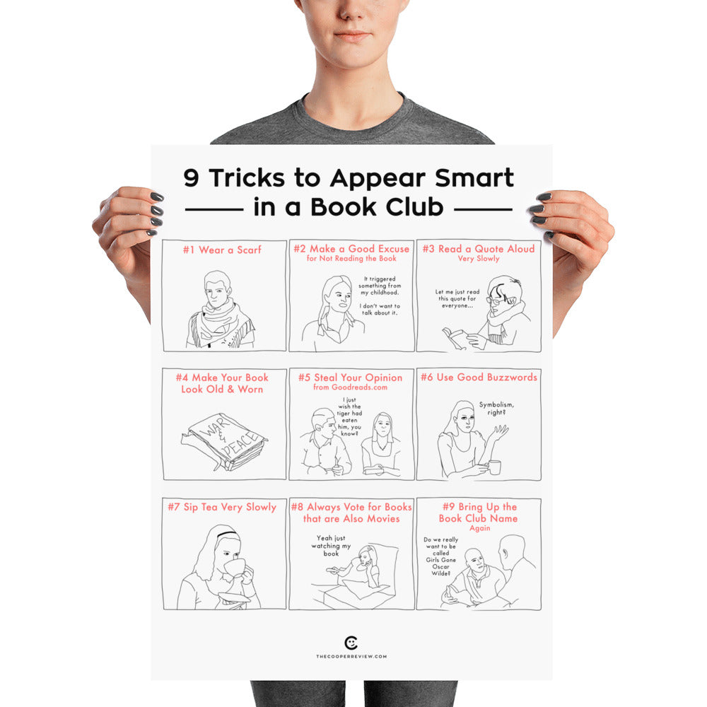 How To Make A Book Cover Look Old And Worn ~ 9 tricks to look smart in a book club