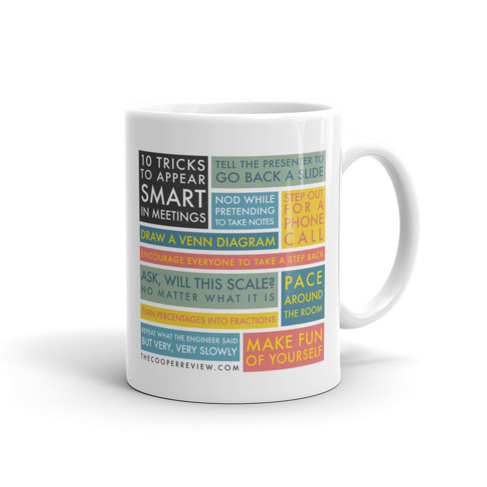 10 Tricks to Appear Smart in Meetings Mug