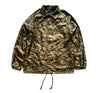 Poly Coach Jacket in Brown Camo - Elusive