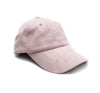 Micrologo Dad Hat in Pink Suede