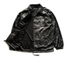 Poly Coach Jacket in Black Camo