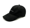 Micrologo Dad Hat in Black Suede