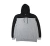 Divi Hoody in Black/Heather Grey