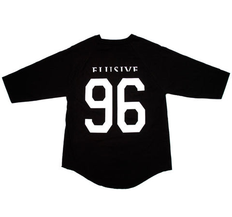 Homebase Baseball Tee in Black
