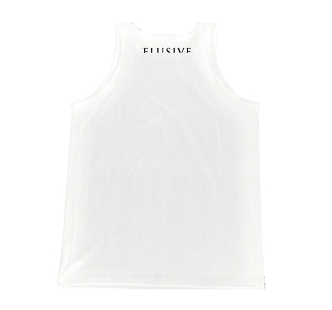 Palms Tank in White
