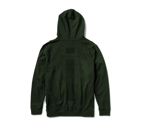 Micrologo Hoody in Forest Green