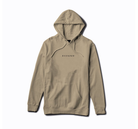 Micrologo Hoody in Sand