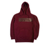 Horizon Tonal Hoody in Cardinal Red - Elusive