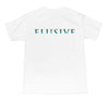 Horizon Fade Tee in White - Elusive