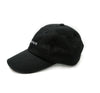 Micrologo Ripstop Dad Hat in Black