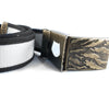 Pennant Belt in Cool Gray - Elusive