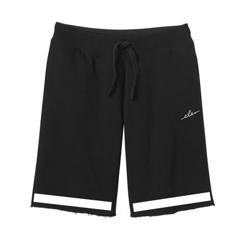 Roster Sweat Shorts in Black