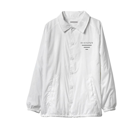 Sideline Coach Jacket in White