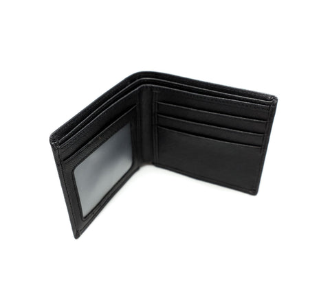 Hatch Leather Bifold Wallet
