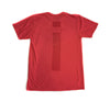 Micrologo Tee in Red Heather