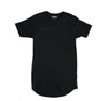 Spread scallop tee in Black