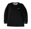 Script Thermal Shirt in Black - Elusive
