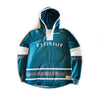 Faceoff Hockey Jersey Hoody in Teal - Elusive