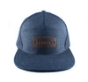 Strauss Strapback in Indigo Denim - Elusive